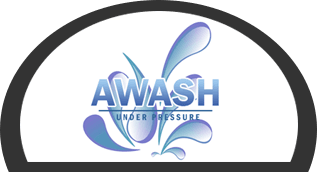 Awash pressure cleaning