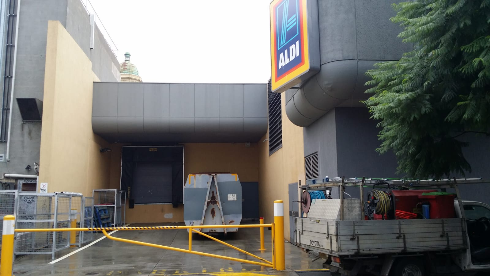 Aldi Prahan, Pressure wash cleaning