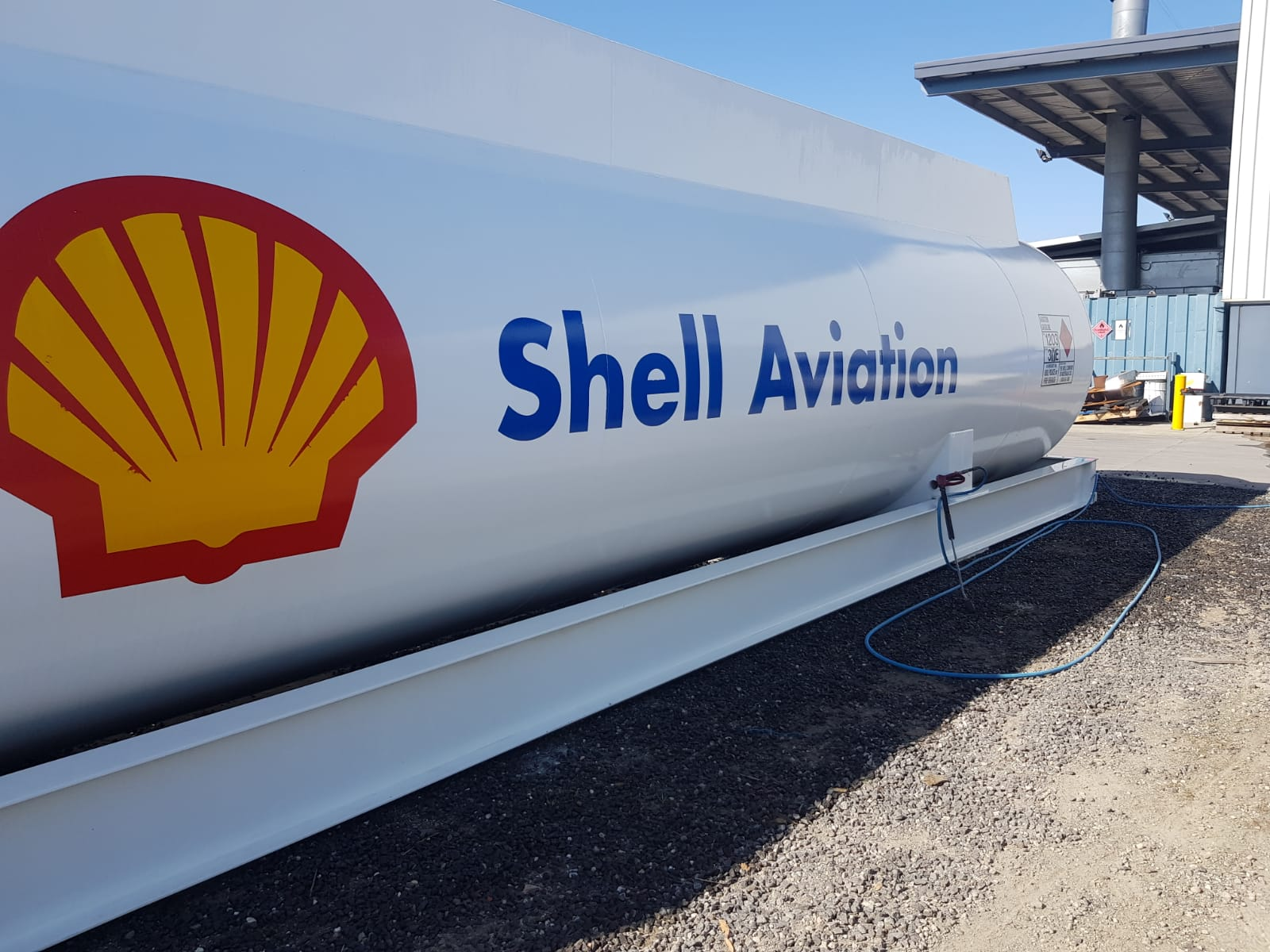 Fuel storage pressure wash cleaning Ravenshall