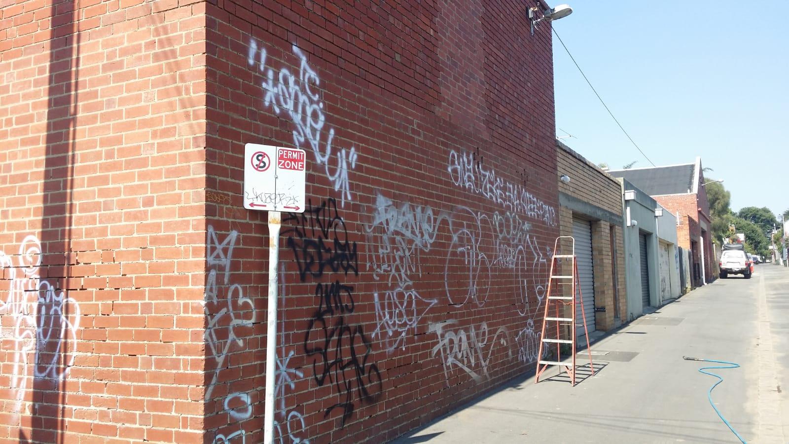 Grafitti removal Carlton