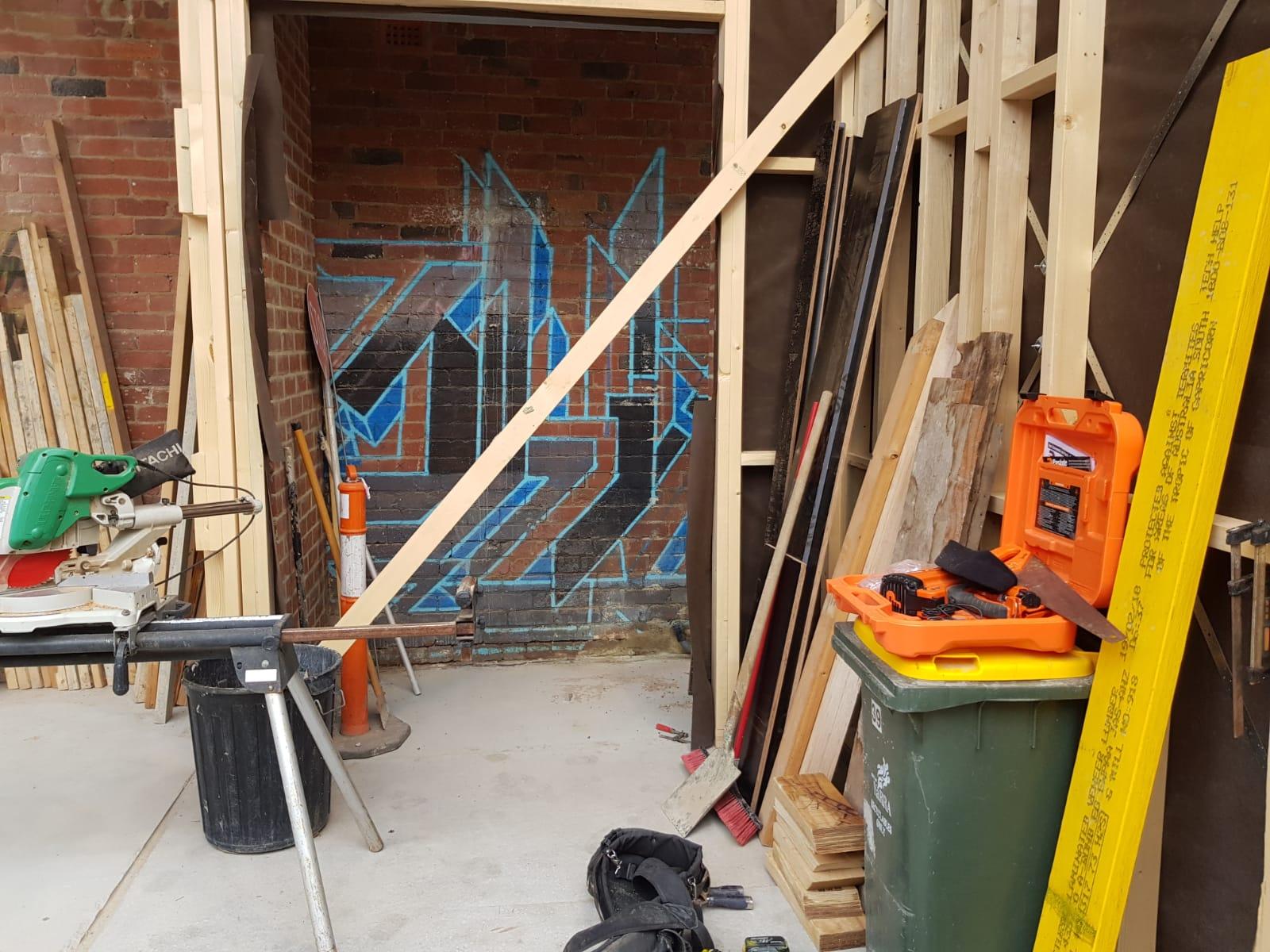 Grafitti removal Collingwood