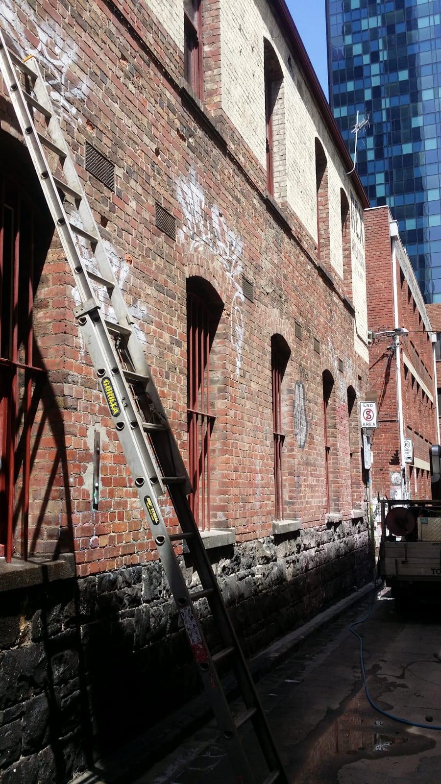 Grafitti removal Melbourne City