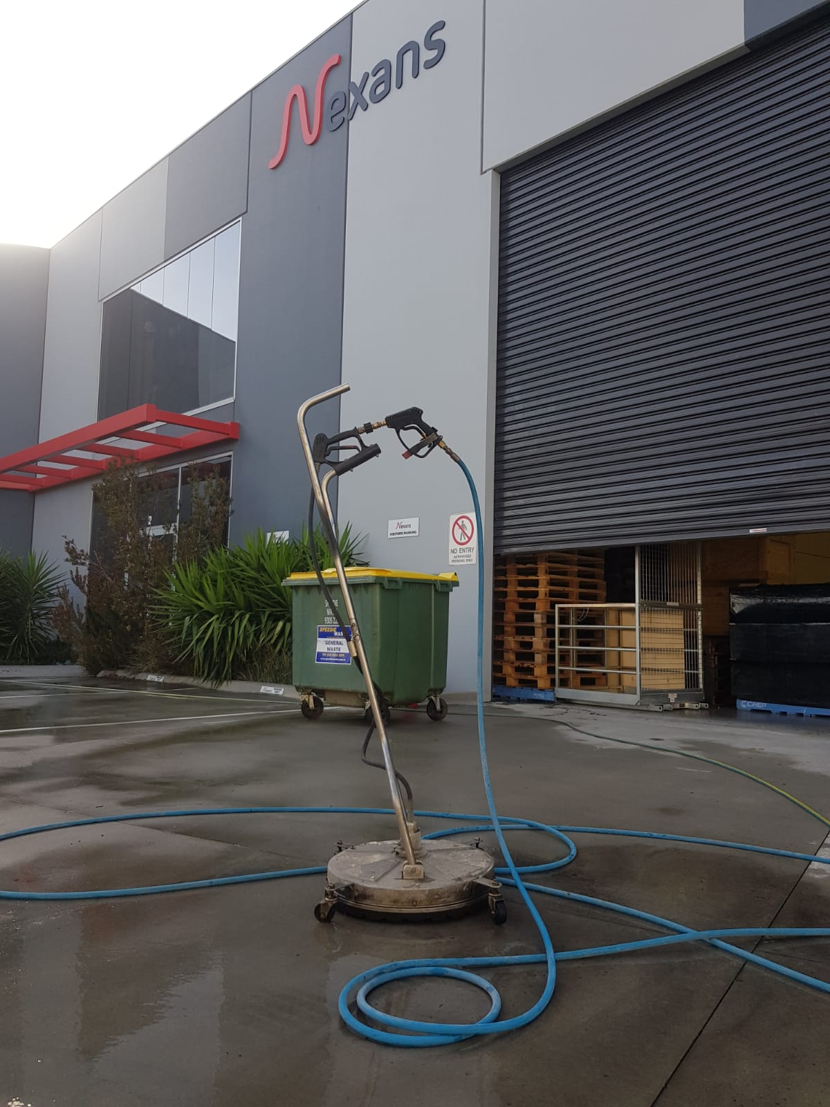 Nexans pressure wash cleaning Thomastown