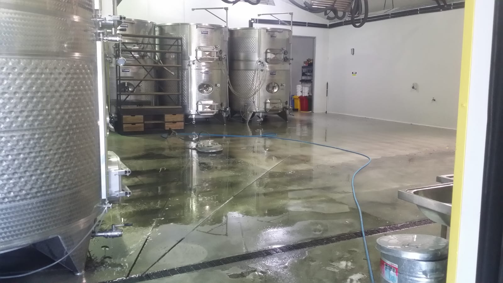 Pressure wash cleaning Farm and Co Winery Carrum Downs