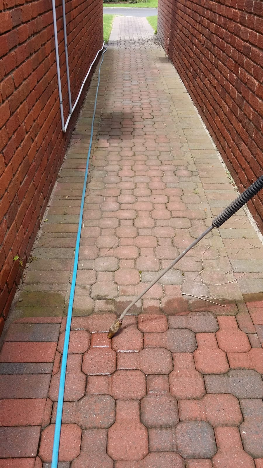 Pressure wash cleaning Retirement village Dingley