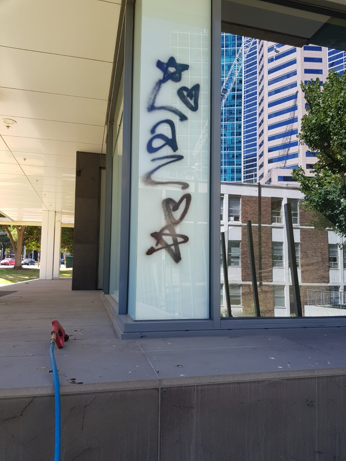 Royal College of Surgeons Graffiti removal Melbourne
