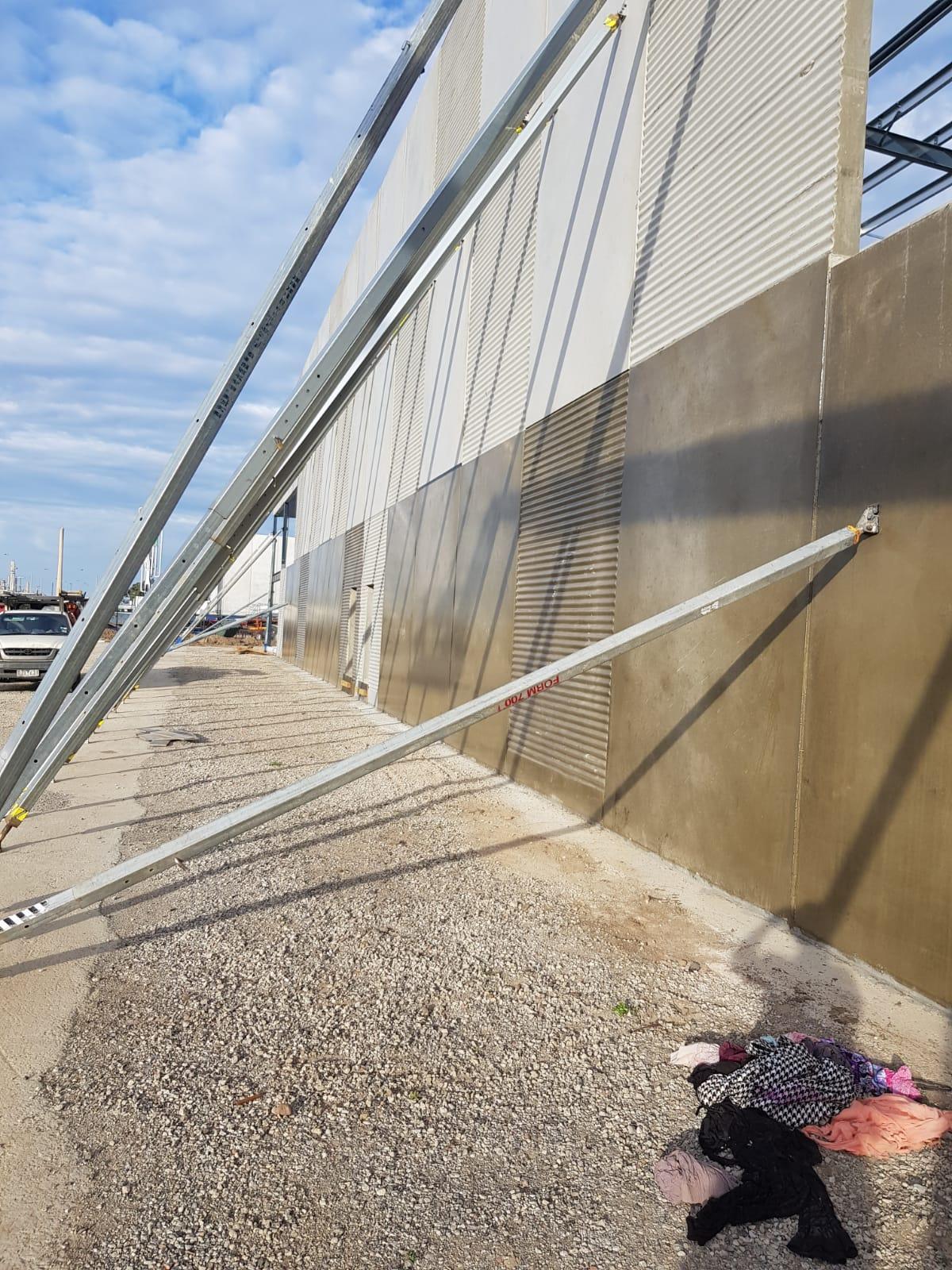 Warehouse Anti grafitti coating Altona
